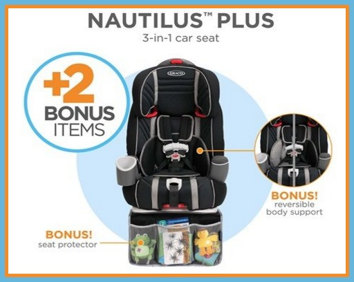 If Youre In The Market For A Cart Seat Check This Out Today Only Or While Supplies Last Hurry Over To Woot Grab Graco Nautilus Plus 3 1