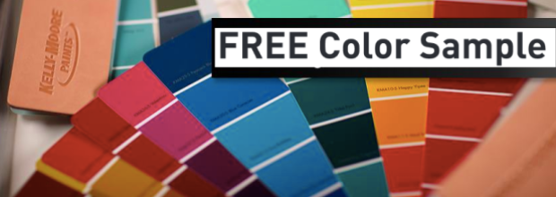 FREE Kelly-Moore Paint Color Sample Quart