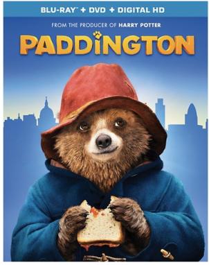 Target: Paddington Blu-ray + DVD + Digital Copy