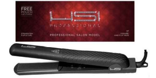 Amazon: Highly Rated HSI Professional Flat Iron Hair Straightener & More Only $34.99 Shipped