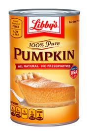 Libby's Pumpkin 15 oz can