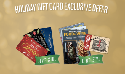 Maggiano's Gift Card offer 2015