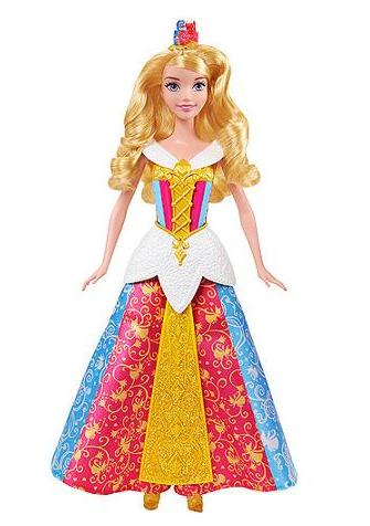 Disney MagiClip Color Changing Dress Aurora Doll