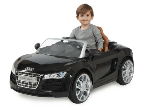 Audi R8 Spyder 6V Battery Ride-On Convertible Sports Car
