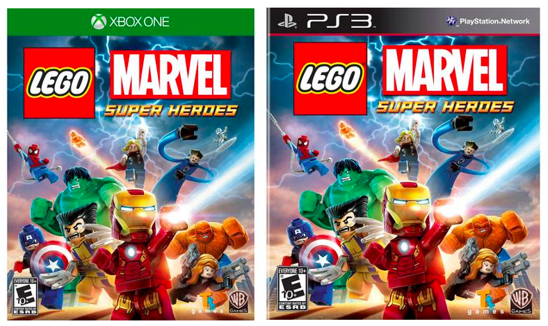 LEGO Marvel Super Heroes Video Games