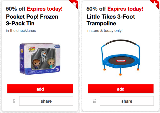 Target: 50% Off Little Tikes Trampoline AND 50% Off Pocket Pop! Frozen 3-Pack Tin