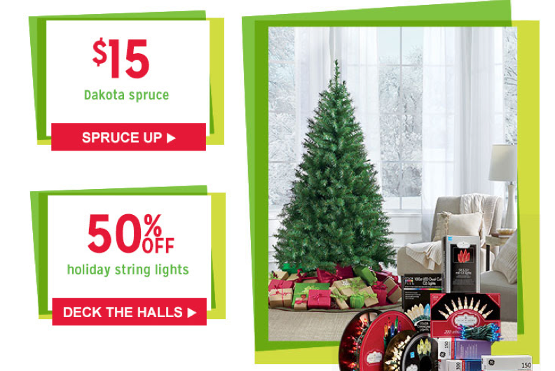 Kmart Doorbuster Deals: Big Savings on Christmas Lights, Trees ...