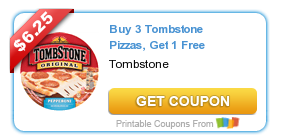 Buy 3 Tombstone Pizzas AND Get 1 Free Coupon