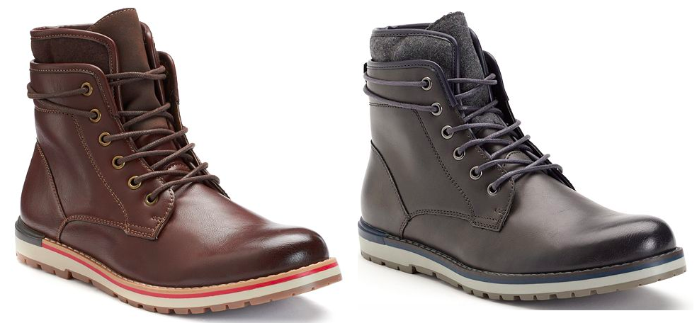 Kohl's: Select Men's Boots Only $21.24