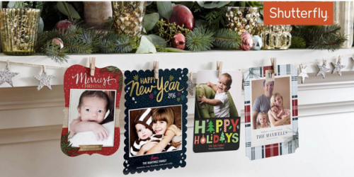 Huggies Rewards: Possible $20 to Spend on Shutterfly Holiday Cards + FREE Shipping