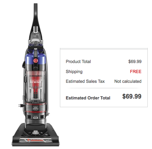 Hoover WindTunnel Vacuum Only $69.99 Shipped (Reg. $129.99