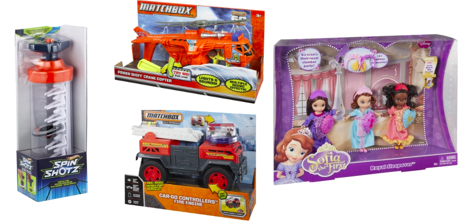 Mattel: Up to 50% Off Toys (Hot Wheels Display Case $6.50, Matchbox Copter $7.50 & More)