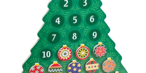 TJMaxx: Free Shipping on ANY Order = Kid's Wooden Advent Calendar Only $14.99 Shipped