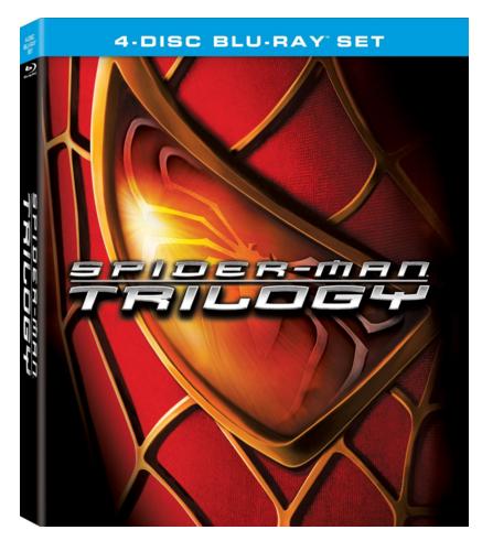 Spider-Man Trilogy 4-Disc Blu-ray set
