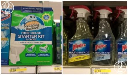Scrubbing Bubbles - Windex