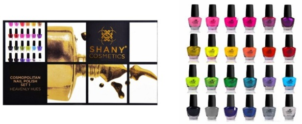 SHANY Cosmetics The Cosmopolitan Nail Polish Set