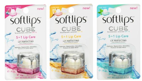 Softlips cubes