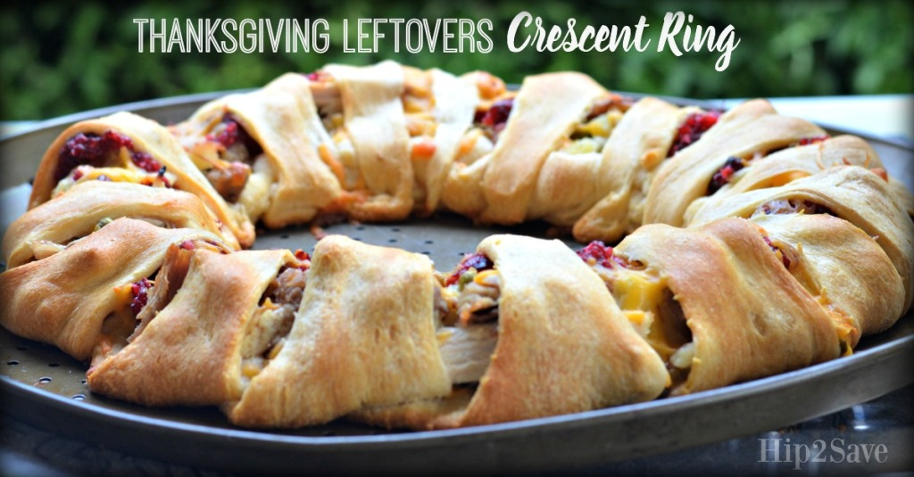 Thanksgiving Leftovers Crescent Ring Hip2Save.com