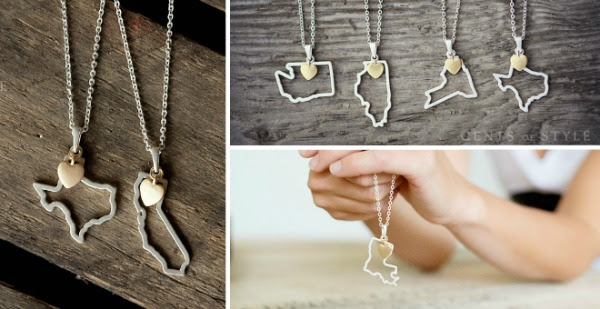 Custome State Necklaces