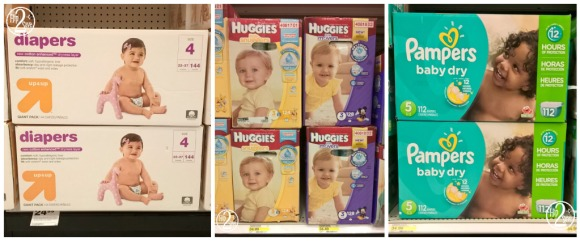 Up & Up - Huggies - Pampers