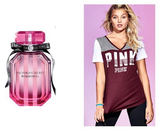 Victoria's Secret Perfume and Tee