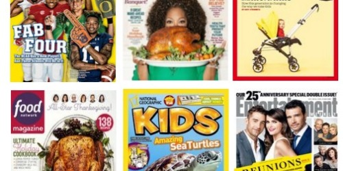 Rarely Discounted Magazine Sale: Save on Time, Sports Illustrated, Consumer Reports & More