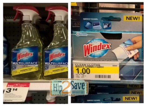 Windex at Target Hip2Save