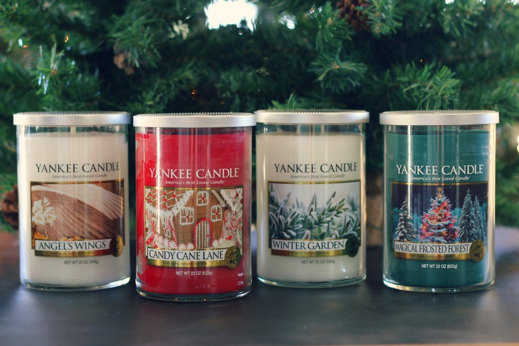 Yankee Candle Holiday Candles