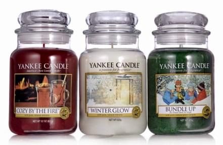 Yankee Candles Christmas