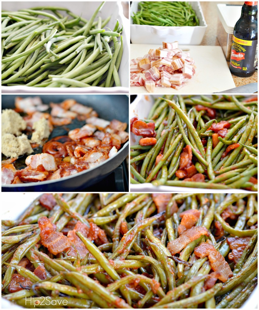 best ever bacon green beans Hip2Save.com