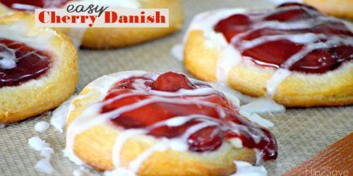 Easy Cherry Danish Recipe