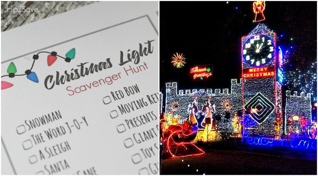 Christmas Light Scavenger Hunt Holiday Traditions Hip2Save.com