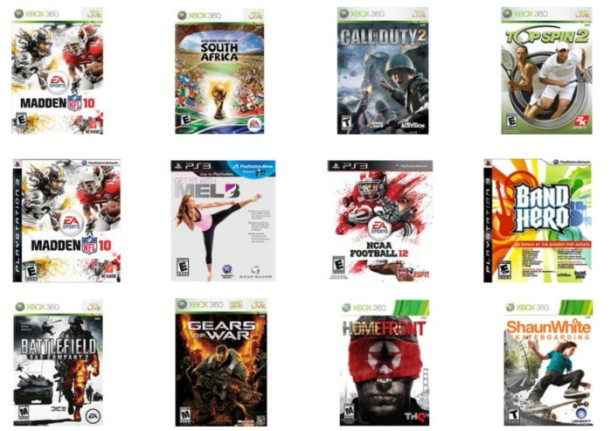 Walmart: Pre-Owned Xbox 360 & PlayStation 3 Video Games Only