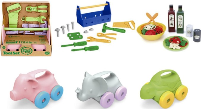 Amazon 50 Off Green Toys Today Only 100 Recycled Plastic Toys