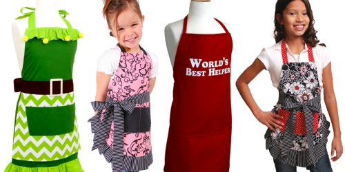 Flirty Aprons: 65% Off + Free Shipping = Kid's & Women's Aprons Only $6.98-$9.98 Shipped