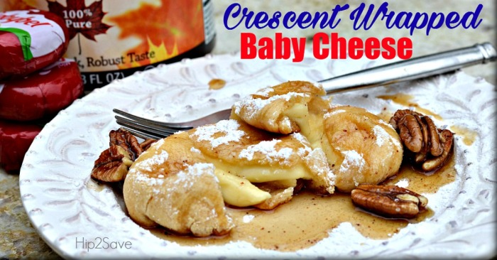 Crescent Wrapped Cheese