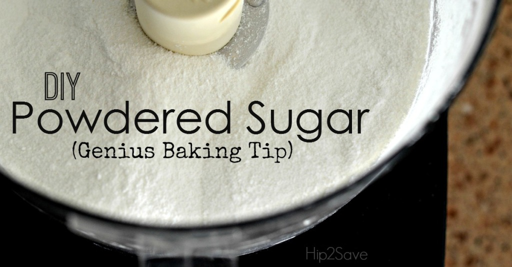 DIY Powdered Sugar - Baking Tip Hip2Save