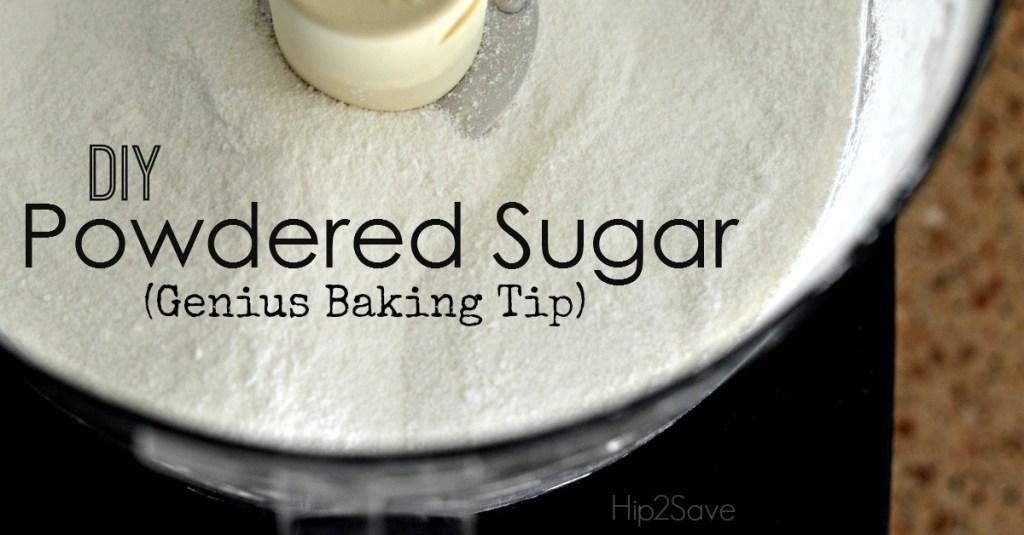 DIY Powdered Sugar (Genius Baking Tip)