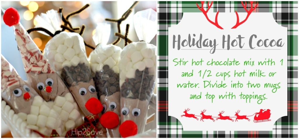 Easy Hot Cocoa Cones as Christmas Gifts by Hip2Save