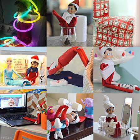 Easy Elf on the Shelf Ideas Hip2Save.com