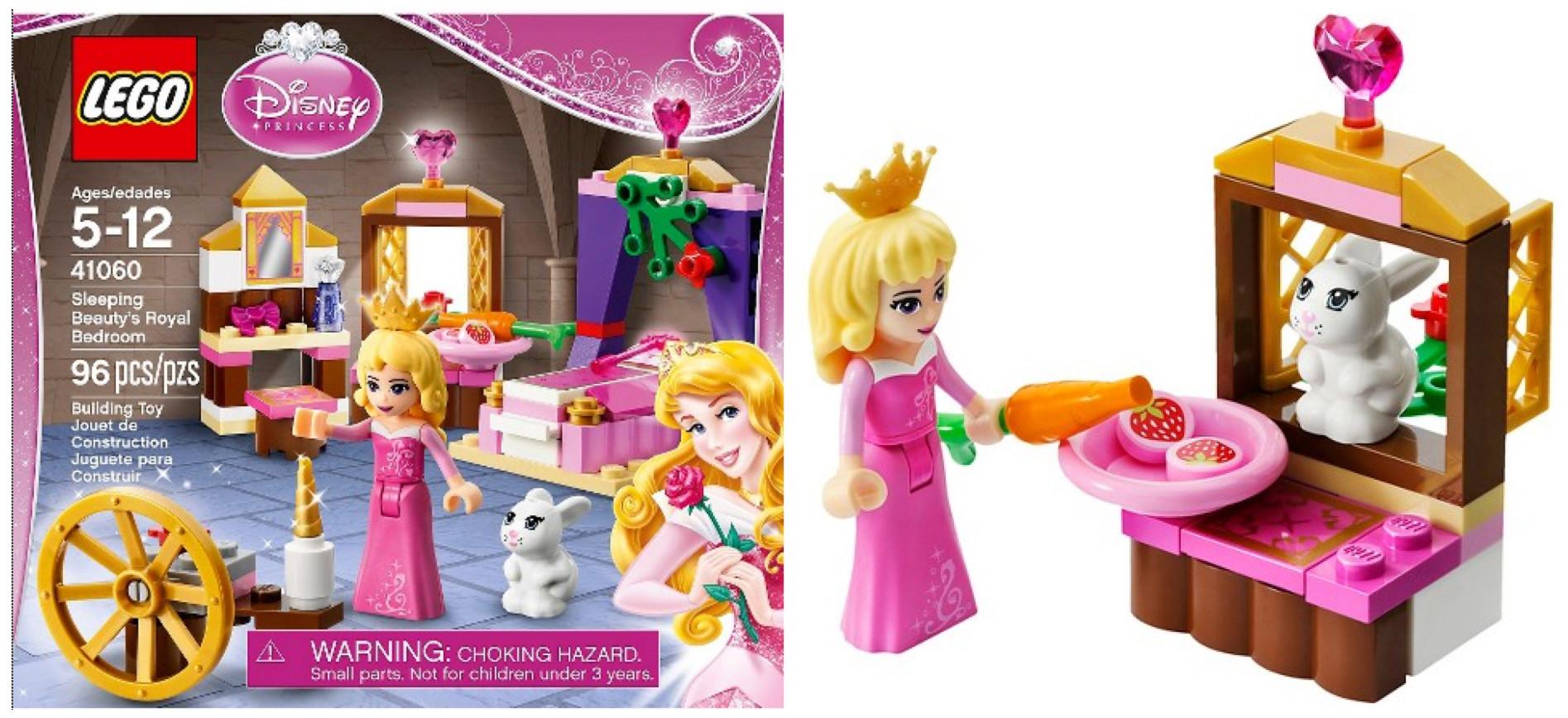 Target Lego Disney Princess Sleeping Beauty S Royal Bedroom Set Only 9 08 Shipped Hip2save