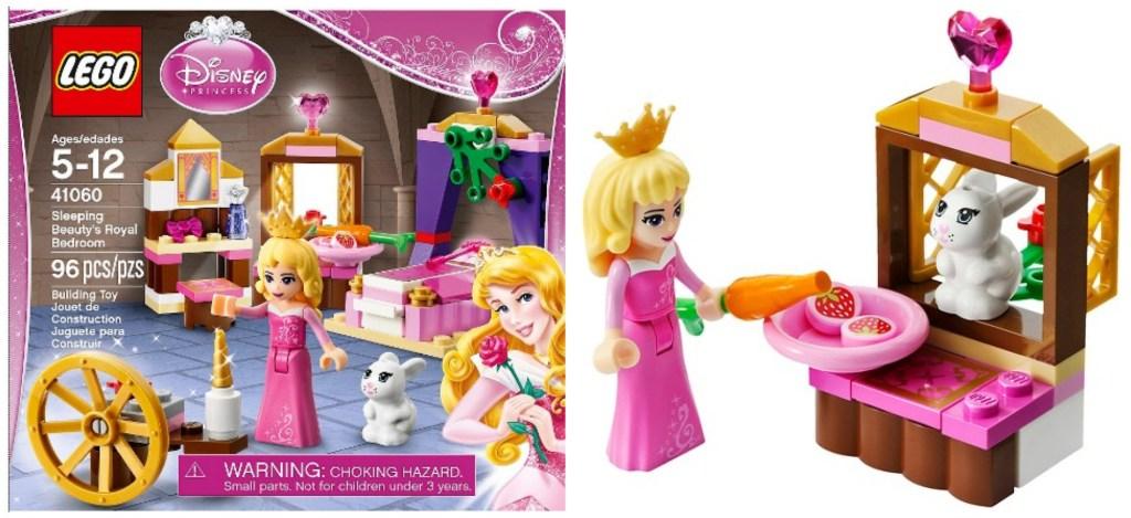 target: lego disney princess sleeping beauty's royal bedroom set