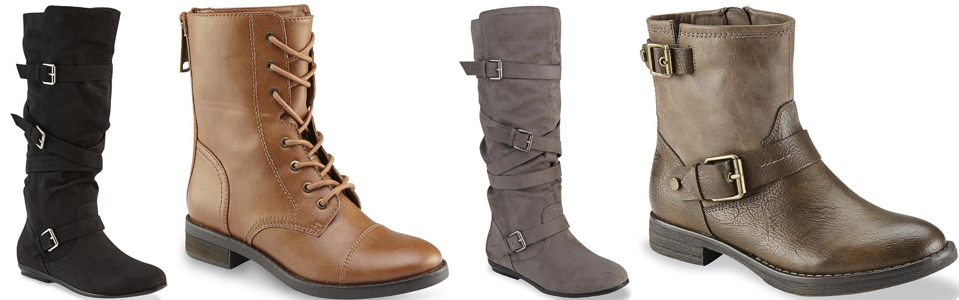 Sears.com: Up to 70% Off Women's Boots