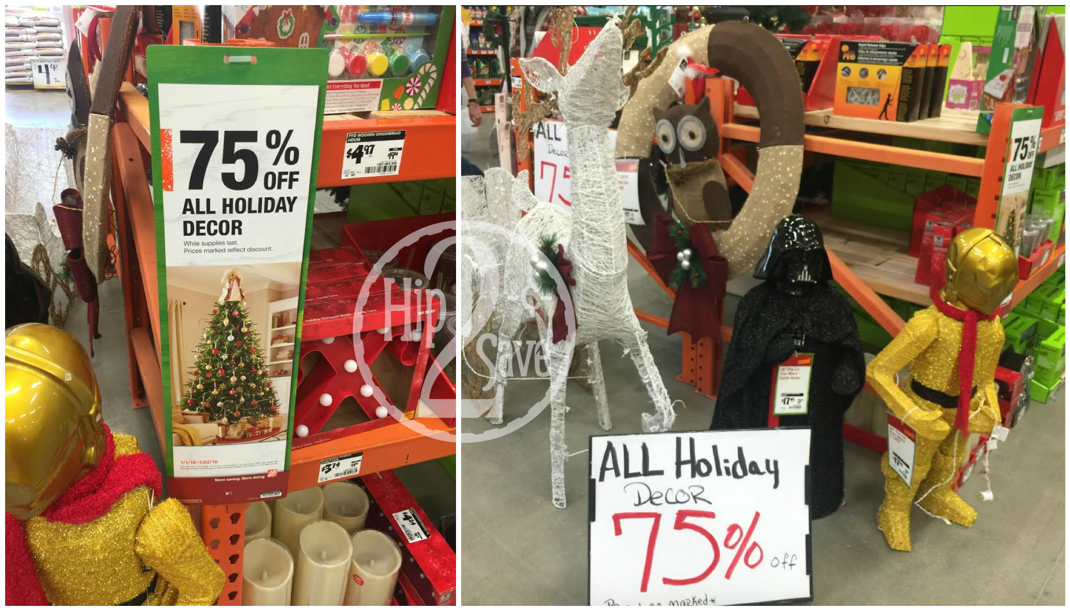 Christmas Clearance 75 Off.Home Depot 75 Off Christmas Clearance Hip2save