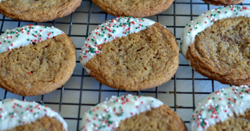 gingersnap cookie recipe h2s