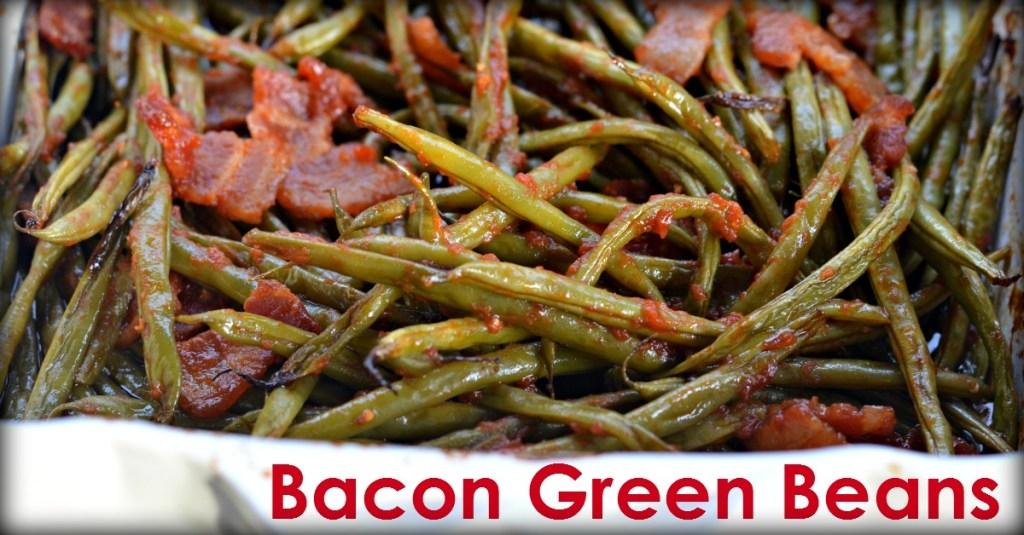 Holiday Bacon Green Beans Hip2Save.com