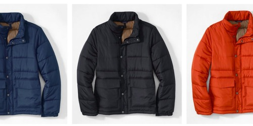 Lands' End: *HOT* Men's Puffer Jacket Only $27.65 Shipped (Regularly $79)