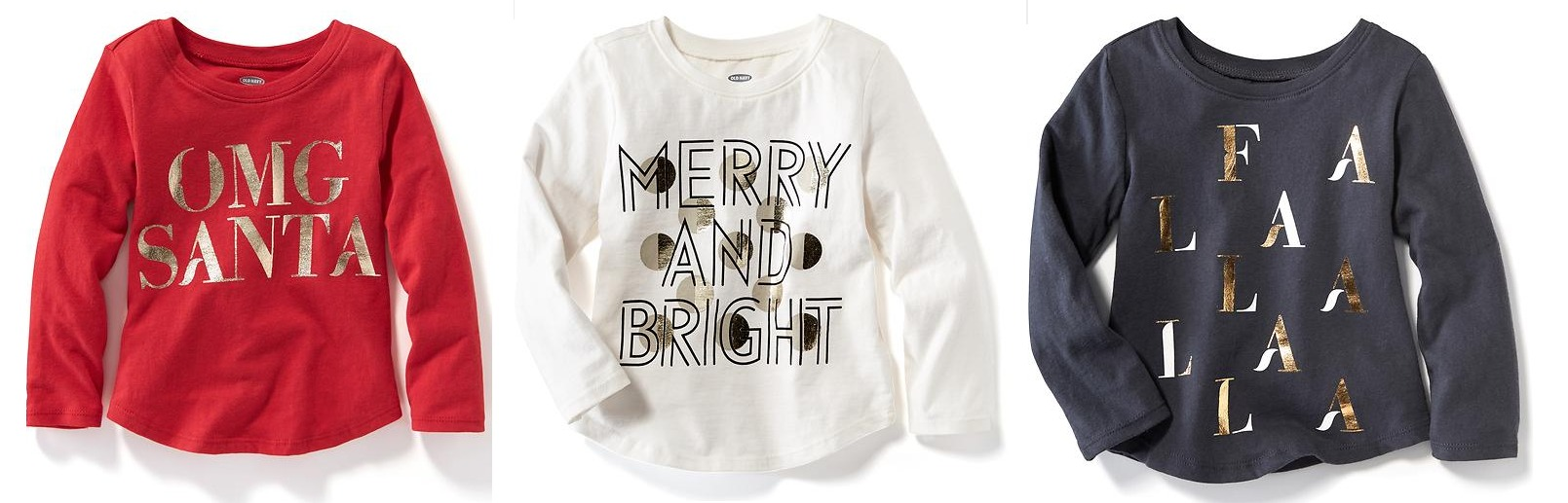 Old Navy: 50% Off Entire Order (Today Only) = Toddler Christmas ...