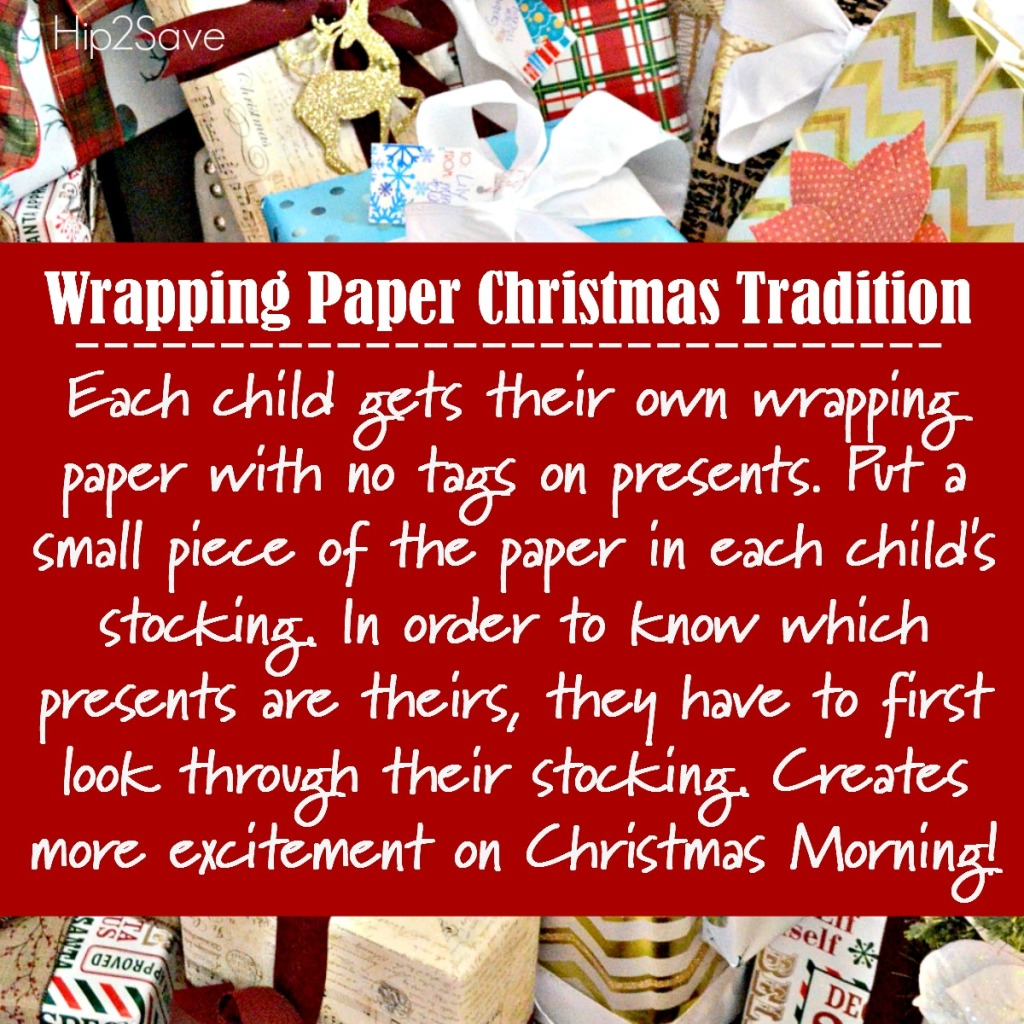 Presents Wrapped Tradition