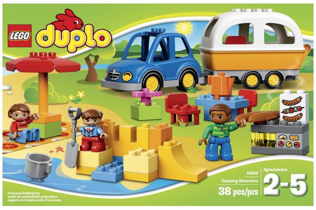 LEGO DUPLO Town Camping Adventure set